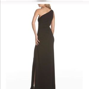 Black Evening Gown; Laundry, by Shelli Segal, 12